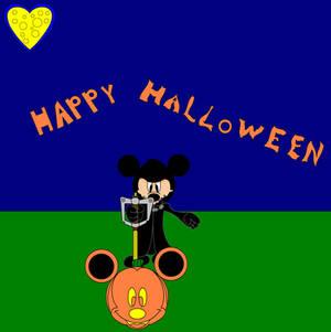 Happy Halloween with Mickey