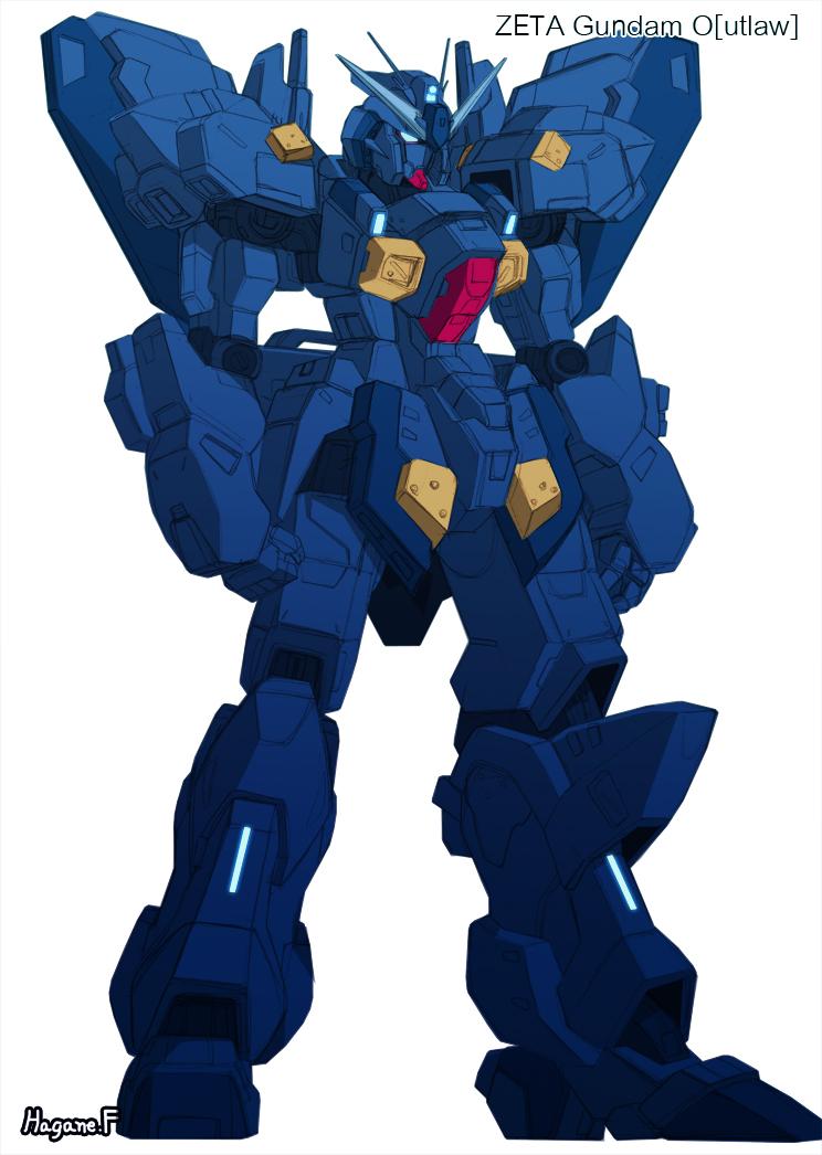 Zeta Gundam Outlaw by haganef