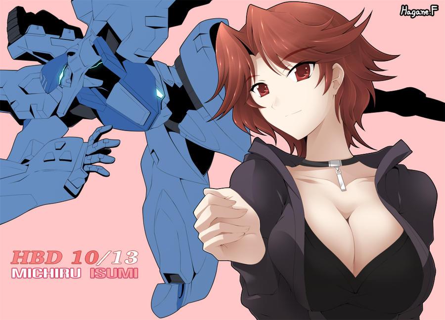 HBD Michiru by haganef