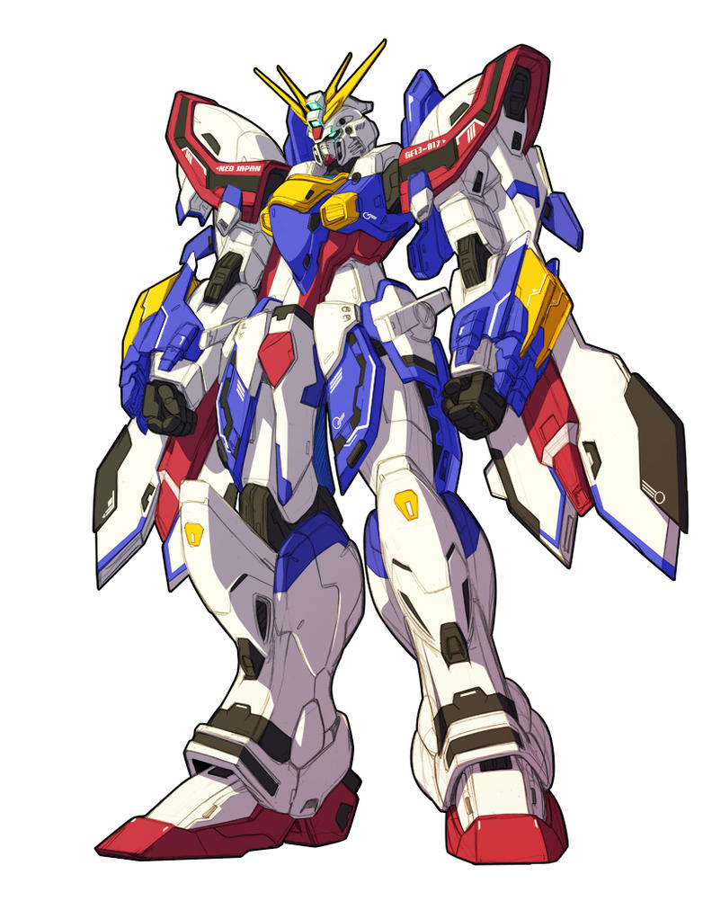 God gundam 2.0 by haganef
