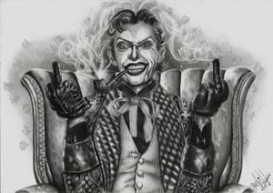 The Joker by Bruna Celeghim
