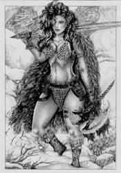 Red Sonja by Bruna Celeghim
