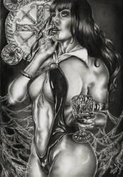 Vampirella by Bruna Celeghim