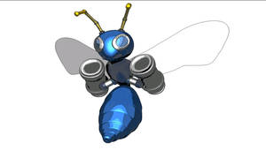 Cell Shading 3D Buzz Bomber 2