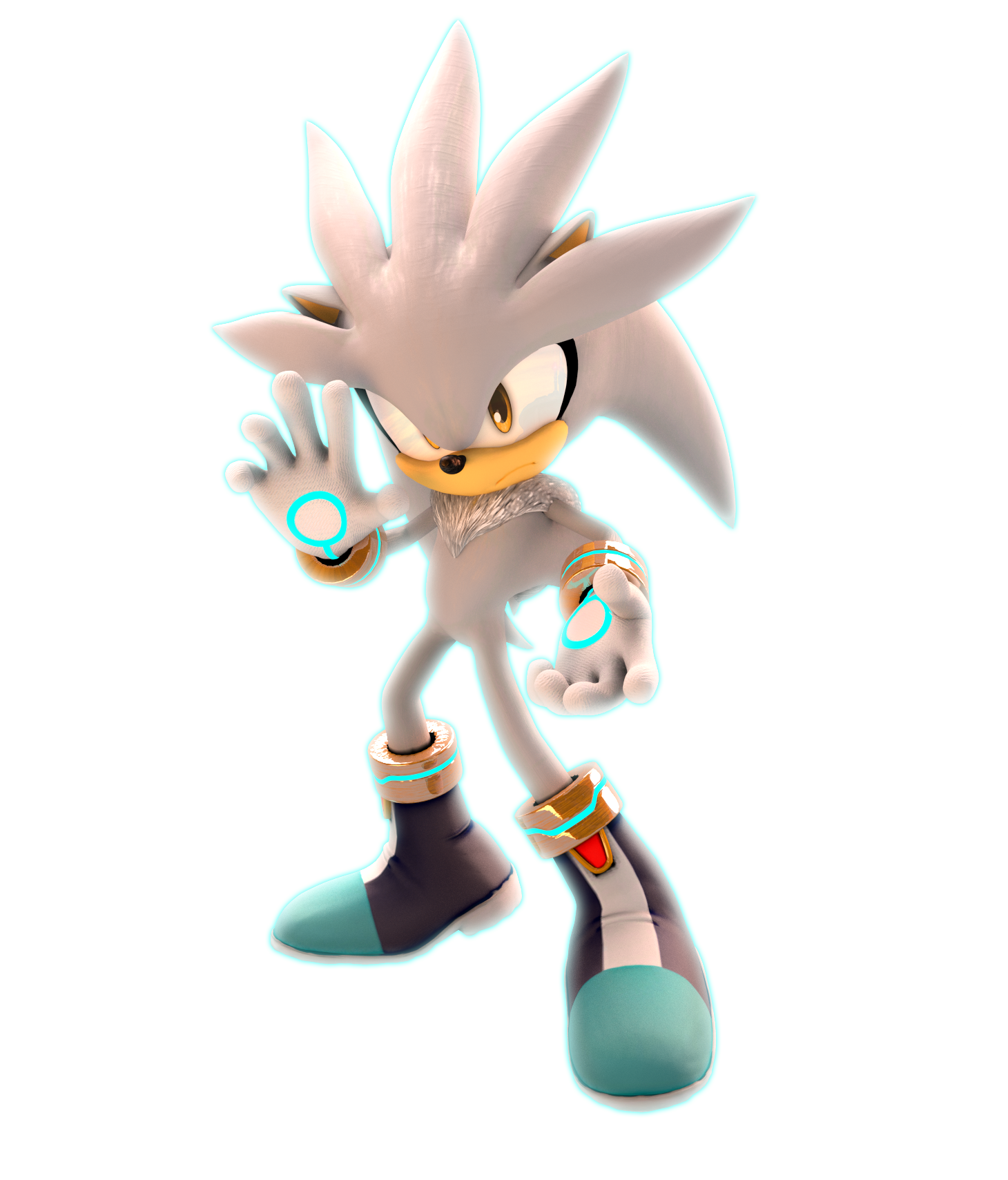 Silver The Hedgehog (U... Super Sonic And Super Shadow And Super Silver Toys