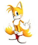 Miles ''Tails'' Prower 2 (Adventure pose) Upgrated