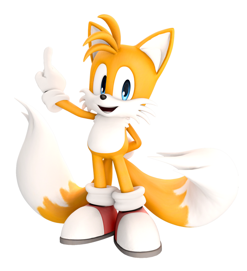 Miles Tails Prower: Miles ''Tails'' Prower (Adventure Pose 2) Upgraded By