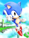 Sonic The Hedgehog Reaches The Sky