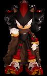 Shadow The Hedgehog (Boom Fan Design 2)