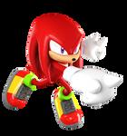 Knuckles (Sonic Heroes Pose)