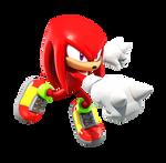 Knuckles (Sonic Heroes Pose) Lighting 2