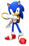Modern Sonic with SatAM Style