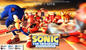 Sonic Misadventures Poster #3 (Team Sonic)