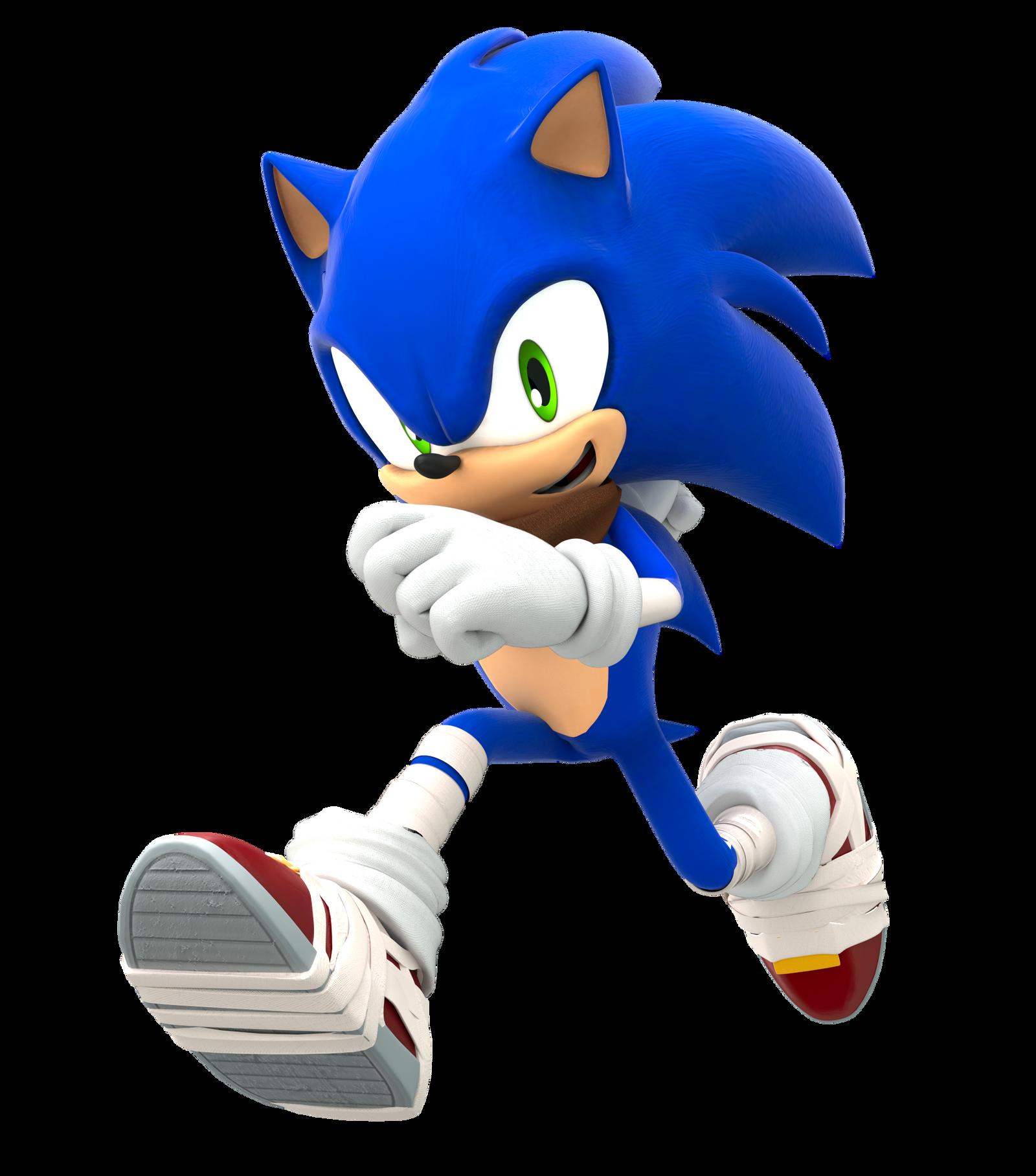 Sonic Boom Running Pose (Upgraded) by FinnAkira on DeviantArt