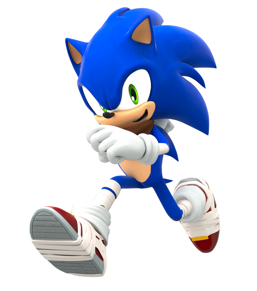 Sonic Boom Running Pose (Upgraded) by FinnAkira on DeviantArt