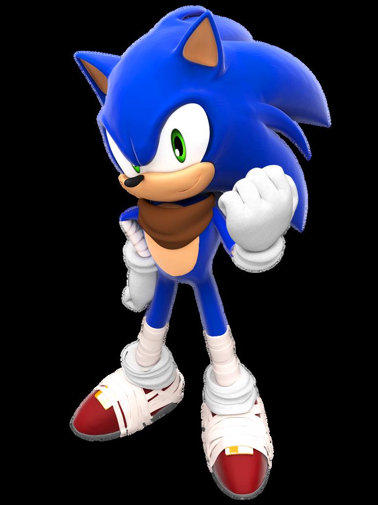 Another Sonic Boom Render by FinnAkira on DeviantArt