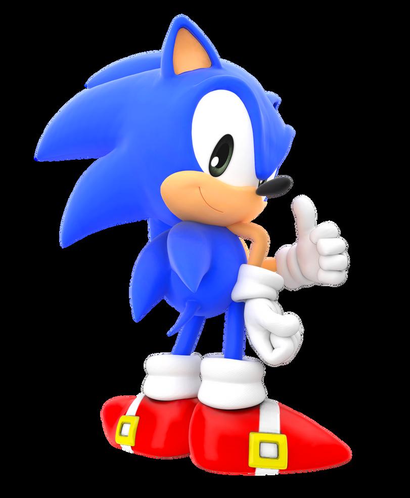Classic Sonic Advance Pose By FinnAkira On DeviantArt