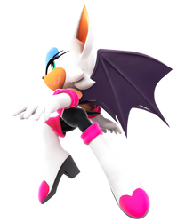 Rouge The Bat by FinnAkira