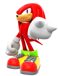 Knuckles The Echidna Re-render