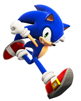 Sonic SSB4 Pose (Upgraded)