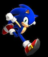 Sonic SSB4 Cell Shaded by FinnAkira