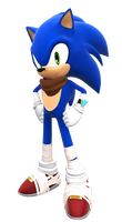 Sonic Boom (1st revealed pose)