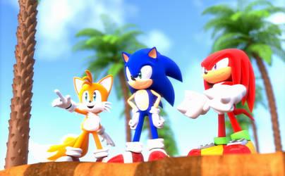 Team Sonic Scene (Upgraded)