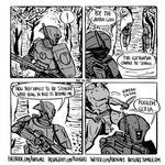 A note on how Space Marines manage to be stealthy