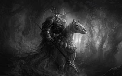 King of the Hunt by ruoyuart
