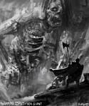 Warhammer Fantasy Speedpaint - Sea Giant