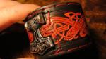G3survival Mjolnir leather Cuff / Bracelet