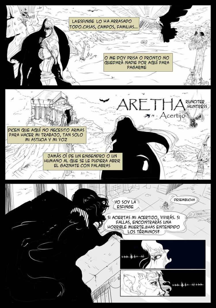 Aretha - Acertijo 01 by Huntress616