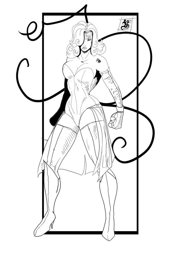 Jessica Rabbit Heroine by Huntress616