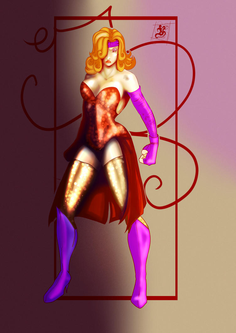 Jessica Rabbit Heroine color by Huntress616