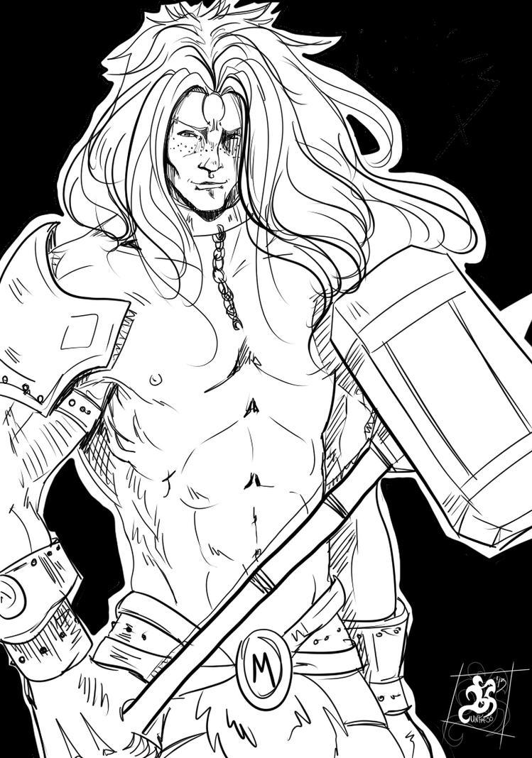 Nordic Tales Fan art - Thor by Huntress616