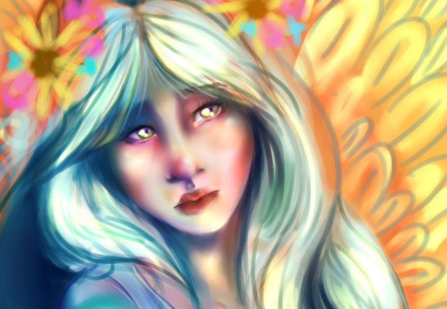 Fan art in progress by Huntress616
