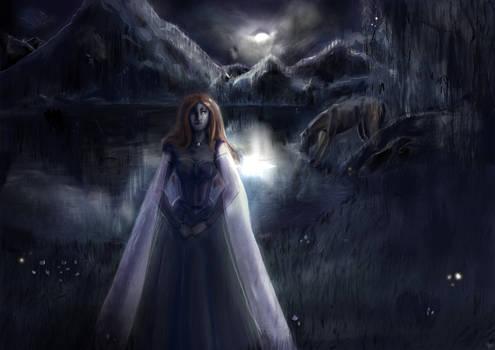 Redraw- Gwendolyne original art by darklordwriter