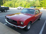 1966 Ford Mustang Coupe - Red