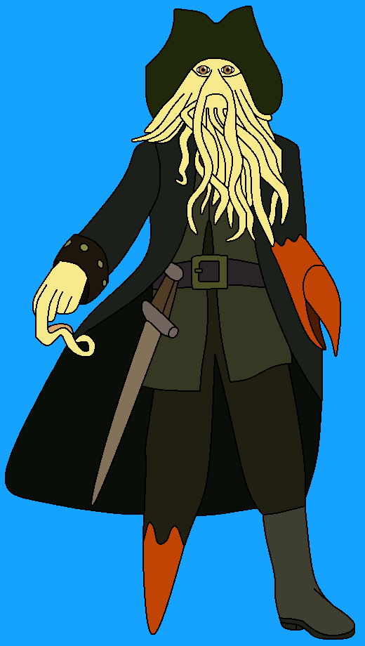 Davy Jones from Pirates of the Carribean
