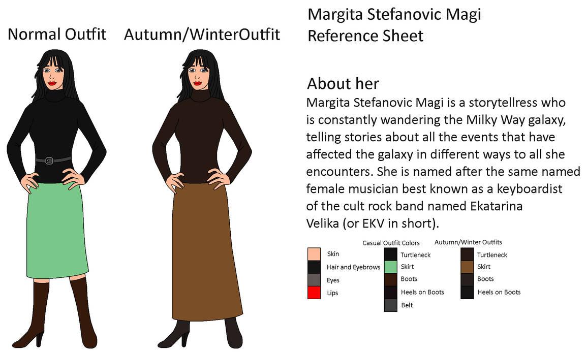 My OC - Margita Stefanovic Magi