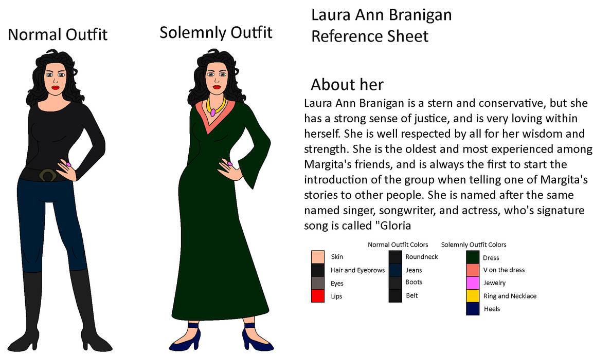 My OC - Laura Ann Branigan