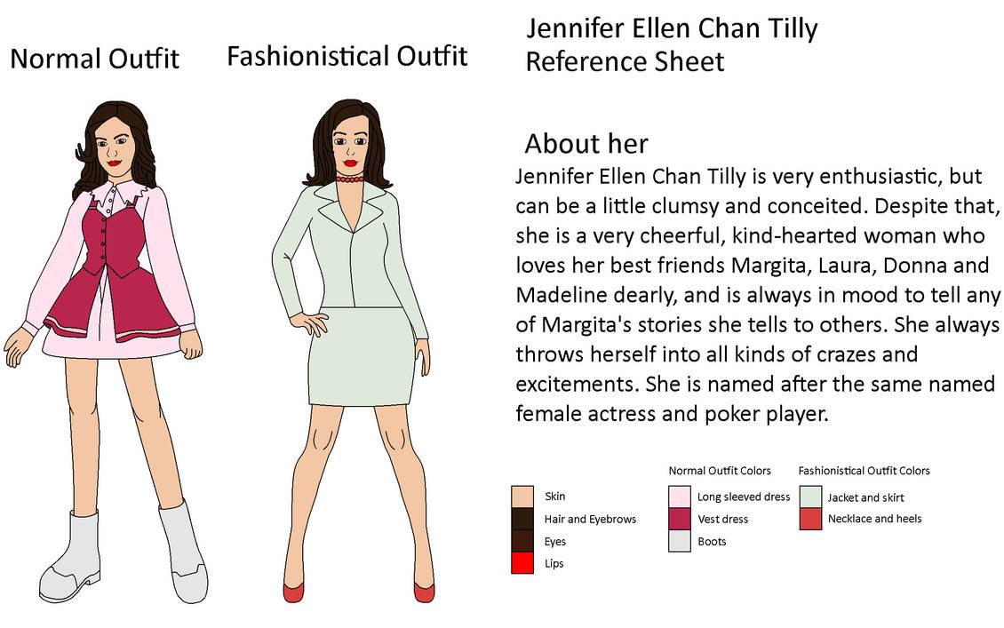 My OC - Jennifer Ellen Chan Tilly