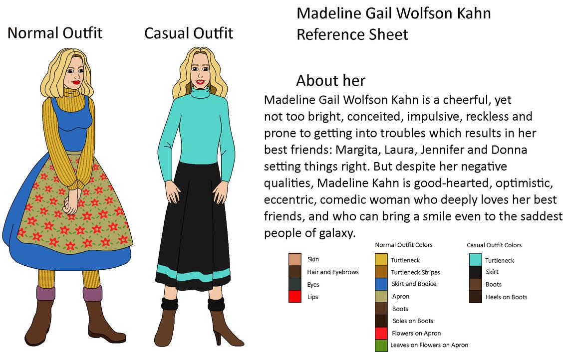 My OC - Madeline Gail Wolfson Kahn