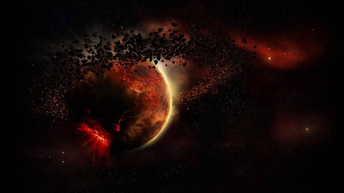 Planet Dorado from Space