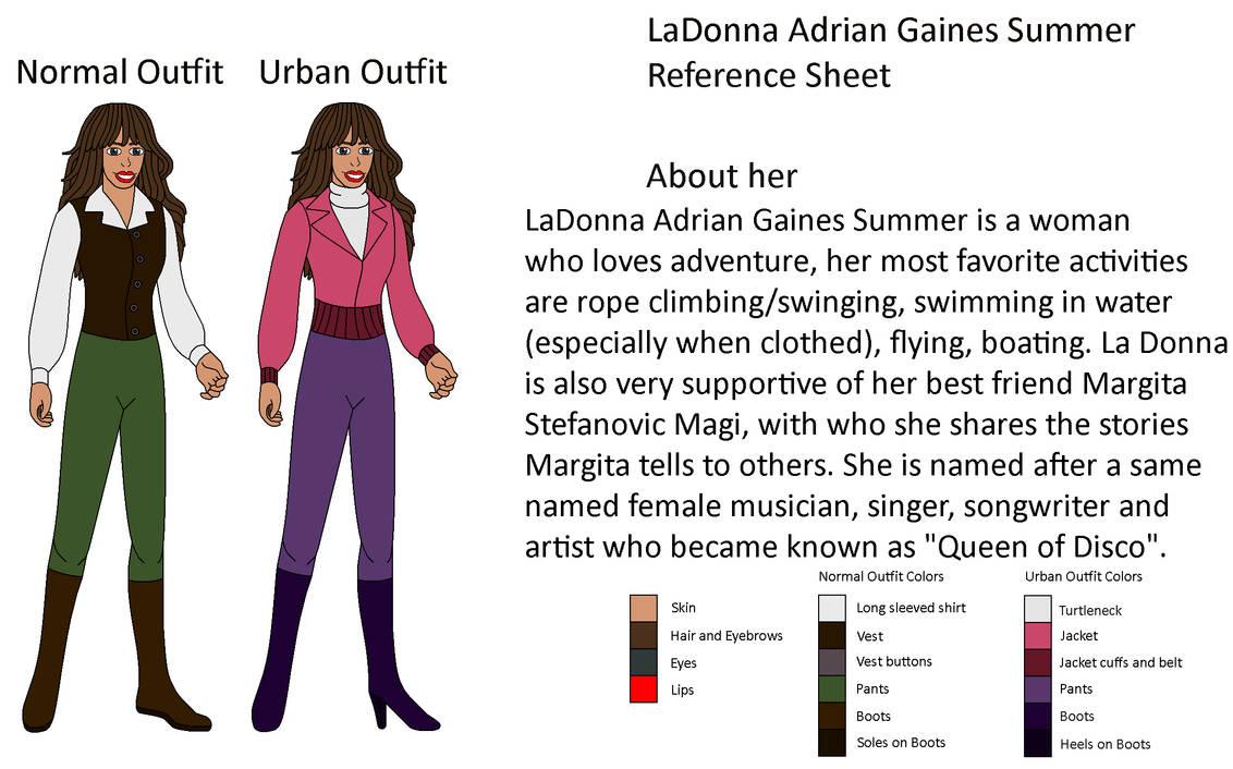 My OC - LaDonna Adrian Gaines Summer