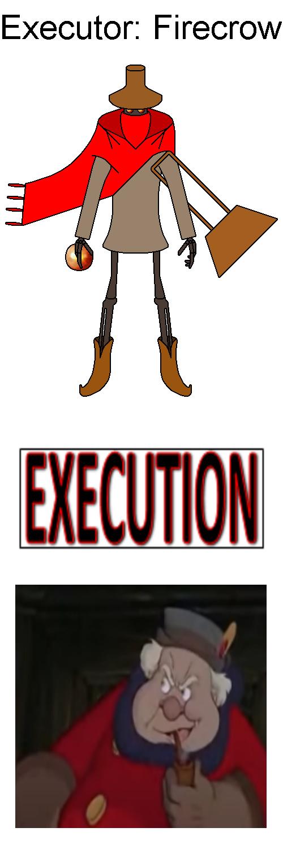 Firecrow Executes Coachman