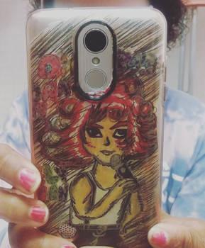 i made danny elfman art on my phone