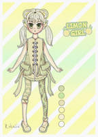 LIMON GIRL  (open) by Ritka111