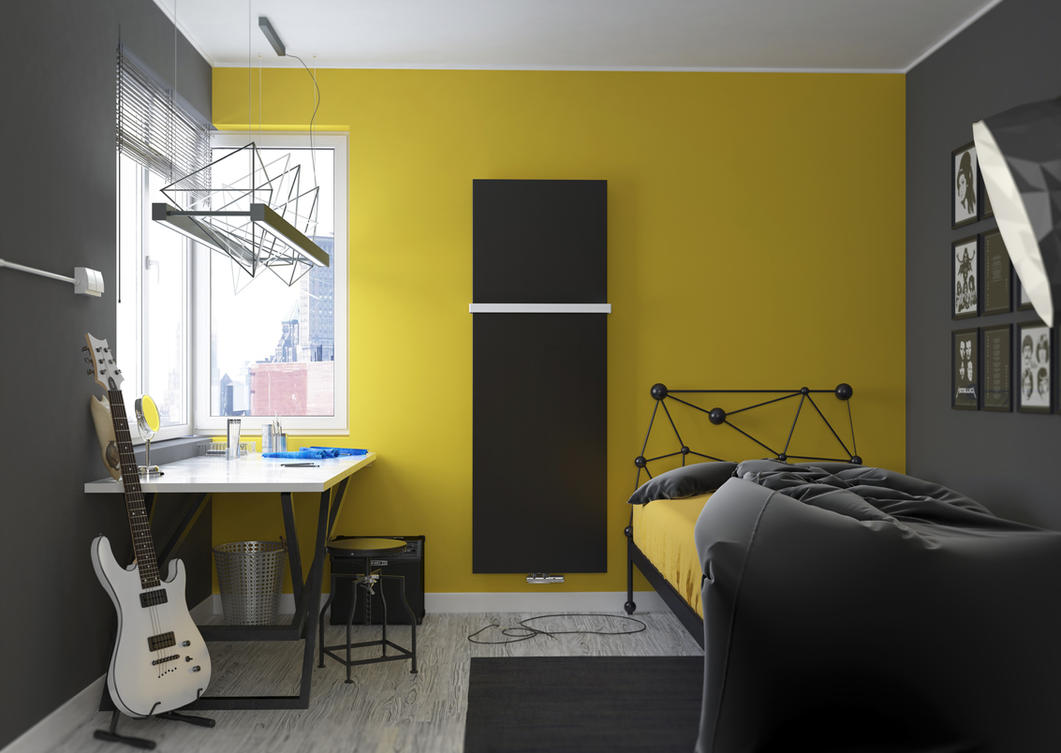 Teenage room by W-Art3D