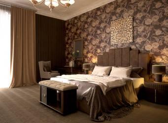 Hotel interior. by W-Art3D